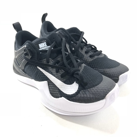 561914d83f05 Nike Womens Air Zoom Hyperace Volleyball Shoes Blk